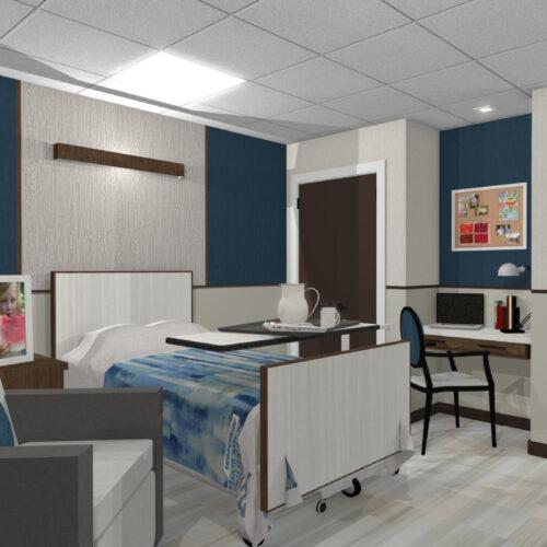 Double Rehabilitation Room